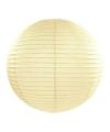 Luxe bol lampion ivoor 50 cm