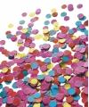 Luxe confetti 1 kilo multicolor roze