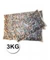 Luxe confetti 3 kilo multicolor