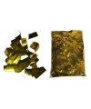 Luxe gouden metallic confetti 1 kilo