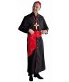 Luxe kardinaal kostuum zwart