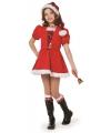 Luxe kerst kostuum voor meisjes