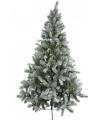 Luxe kerstboom met sneeuw 180 cm
