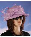 Luxe lila koninginnen hoed alexia