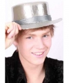 Luxe lou bandy hoed zilver