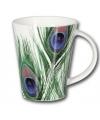 Luxe pauwen thema koffie thee mok