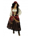 Luxe piraten jurk met bandana