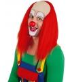 Luxe rode clownspruik