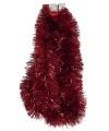 Luxe rode folie slinger 270 x 15 cm