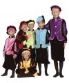 Luxe roze pieten kostuum voor kinderen