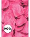 Luxe roze rozenblaadjes 1000 stuks