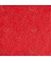 Luxe servetten barok patroon rood 3 laags 15 stuks