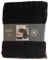 Luxe vacht deken donkerbruin 200 cm