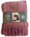 Luxe vacht deken oud roze 200 cm