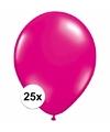 Magenta roze ballonnen 25 stuks