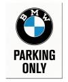Magneet bmw parking 6 x 8 cm