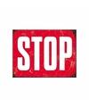 Magneet rood stopbord