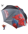 Marvel spiderman paraplu grijs