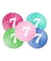 Mega ballon 7 jaar