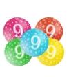 Mega ballon 9 jaar