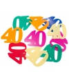 Mega confetti 40 jaar