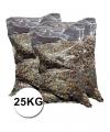 Mega zak confetti multikleuren ca 25 kg