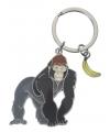 Metalen gorilla sleutelhanger 5 cm