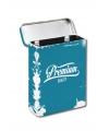 Metalen sigaretten box blauw