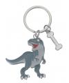 Metalen t rex sleutelhanger 5 cm