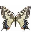 Metalen vlinder koninginnepage 25x20 cm