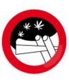 Metalen wandplaat anti blow