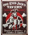 Metalen wandplaat jacks tavern