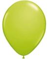 Metallic ballonnen lime groen