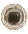 Metallic gouden bordjes 23 cm