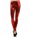 Metallic rode legging