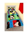 Mickey mouse dekbedovertrek jongens 140 x 200 cm