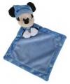 Mickey mouse knuffeldoekje blauw