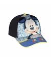 Mickey mouse petje blauw