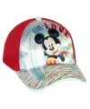 Mickey mouse petje rood