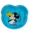 Mickey mouse schaaltje lichtblauw 16 cm