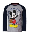 Mickey mouse t shirt grijs