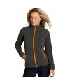 Micro fleece damesjas met rits