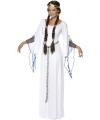 Middeleeuwse romeinse lange jurk voor dames