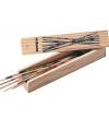 Mikado spel in houten kistje