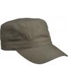 Militairy look rebel cap olijf groen