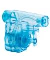 Mini blauw waterpistool 5 cm