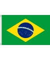 Mini vlag brazilie 60 x 90 cm