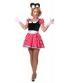 Minnie kostuum voor dames