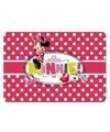 Minnie mouse 3d placemat stippen