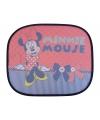 Minnie mouse auto zonneschermen rood 2 stuks